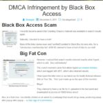 DMCA Infringement Report on Crawling Chaos Website