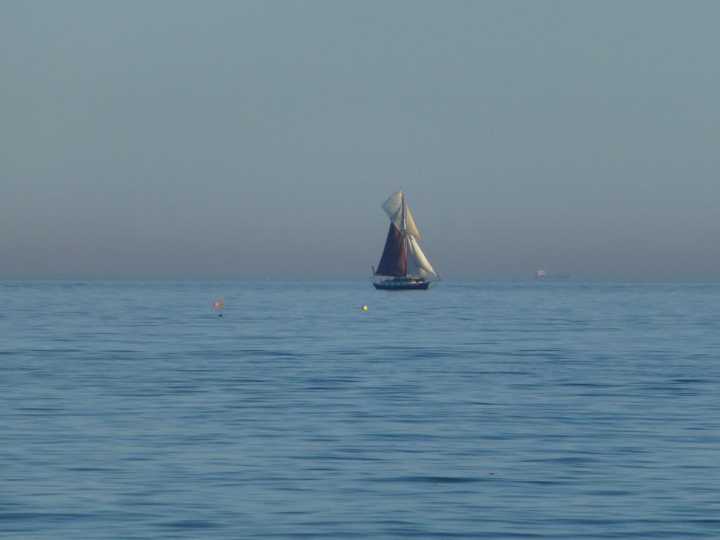 20x Optical Zoom of Yacht