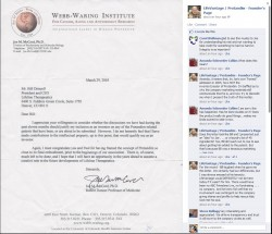 McCord Letter To Bill Driscoll re:Paul Myhill 2005