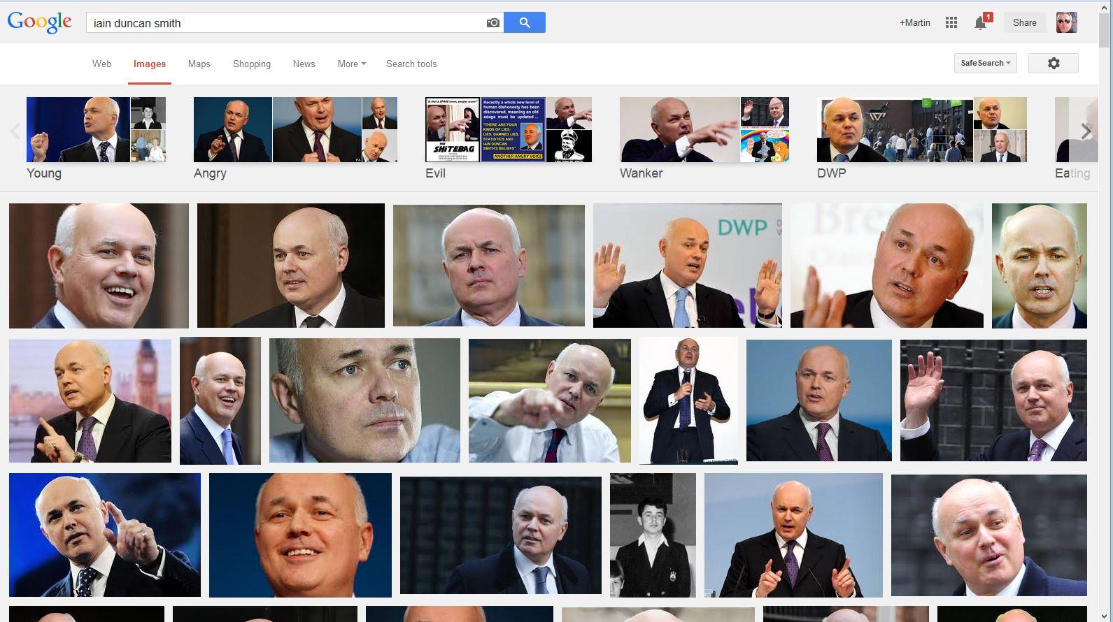 Iain Duncan Smith Google Search