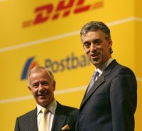 Jürgen Weber, Chairman of the Supervisory Board, and Frank Appel