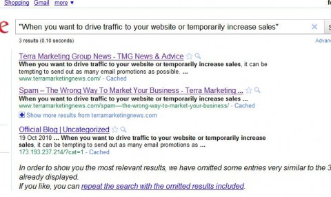 Blog Similarity Search