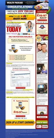 Home Wealth Package - qualified!