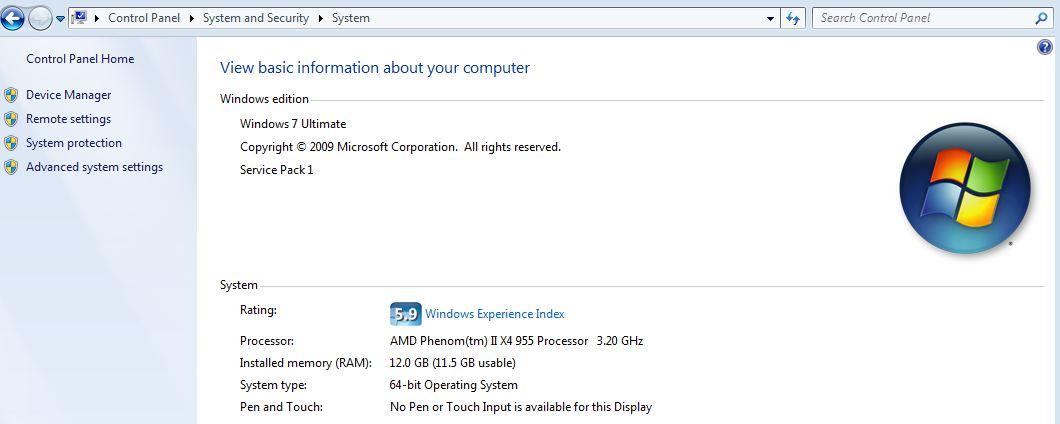 Windows 7 SP1 Install – Strangely Perfect