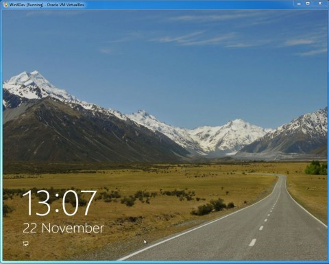 Testing Windows 8 Developer Preview Version